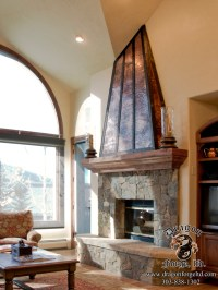 Copper and Steel Fireplace Hood | Dragon Forge - Colorado ...