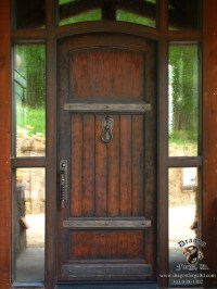 American Craftsman Style Front Door Hardware #16 | Dragon ...