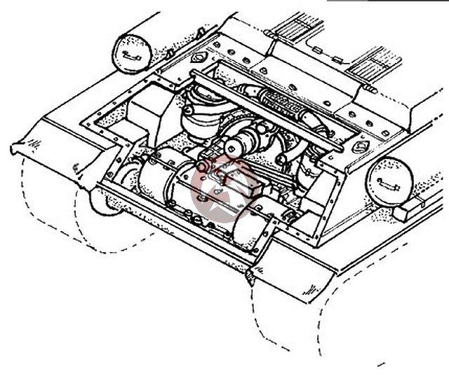 CMK 1/35 Soviet T-34 Tank Transmission Set (for Tamiya kit