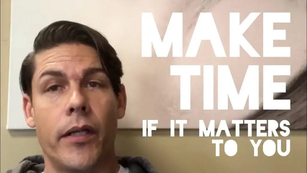 Make Time - If It Matters - Adam Williss