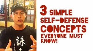 3 Simple Self-Defense Concepts