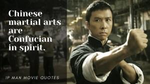 Ip Man movie quote