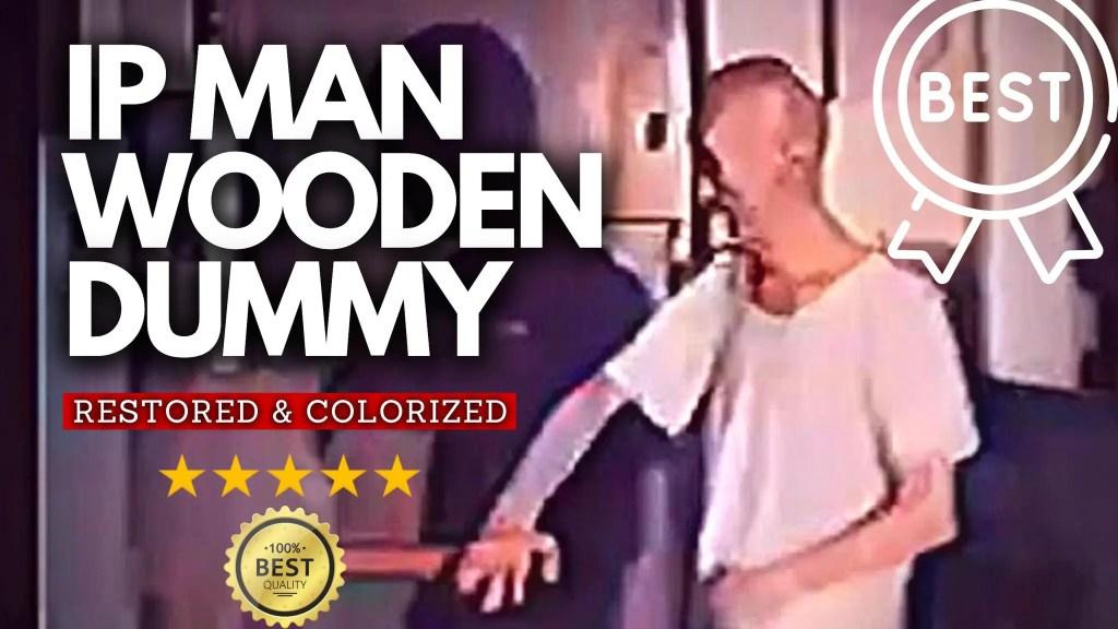 Ip Man Wing Chun Dummy