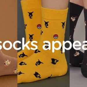 Socks Appeal Pokémon Socks