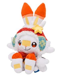 Pokémon Center Christmas 2020 Scorbunny Plush (Order In 50% Deposit)