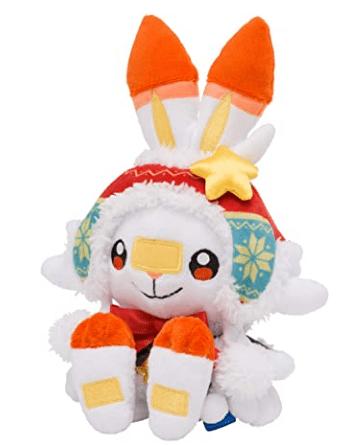 Pokémon Center Christmas 2020 Scorbunny