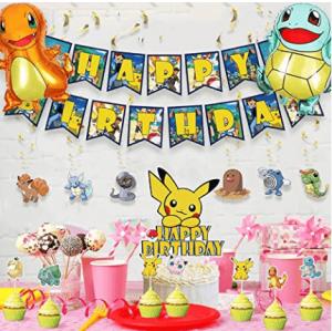 Pokémon Birthday Decoration Set (Order In 50% Deposit)