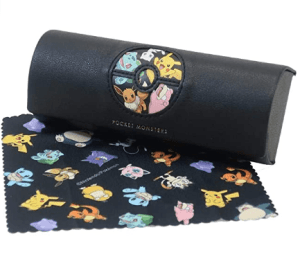 Pokémon Glasses Case with Cleaner Cloth (Order In 50% Deposit)