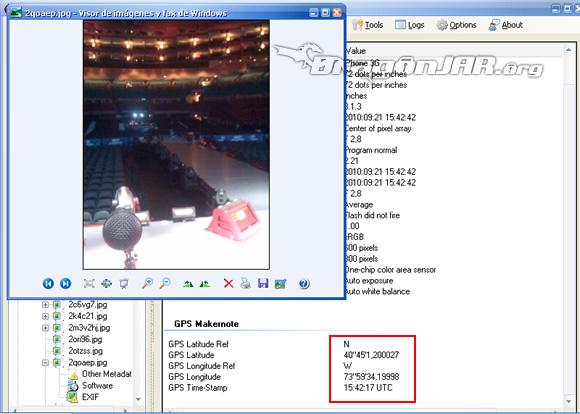 Shakira GPS5 Cómo localizar usuarios de twitter y flickr a través de sus fotos