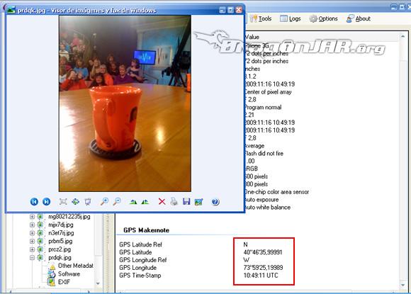 Shakira GPS7 Cómo localizar usuarios de twitter y flickr a través de sus fotos