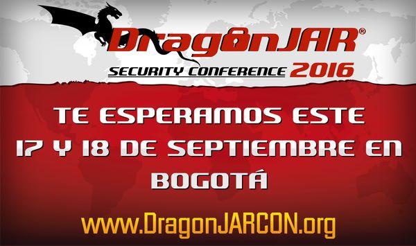 Resultado de imagen para DragonJAR Security Conference 2016