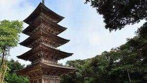 妙成寺-五重塔