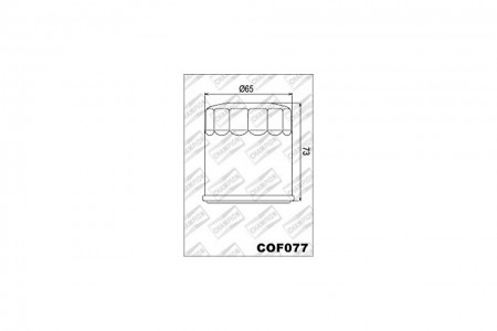 CHAMPION Ölfilter COF 077