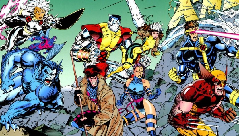 image of x-men cartoon characters
