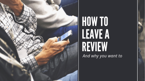 How to leave a product review?