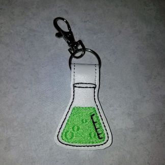 Flask Fob Neon Green