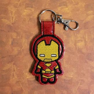 Iron-hero-Fob-Red-Sparkle-Vinyl