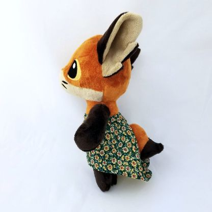 Woodland-Anthro-Fox-side-view-hilo-dress