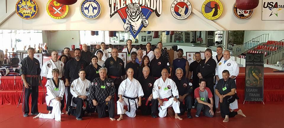 Dragon Society Internation seminar at White Tiger Tae Kwon Do.