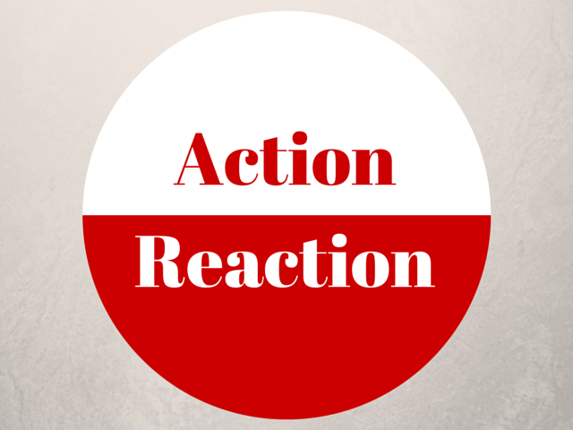 action versus reaction dragos