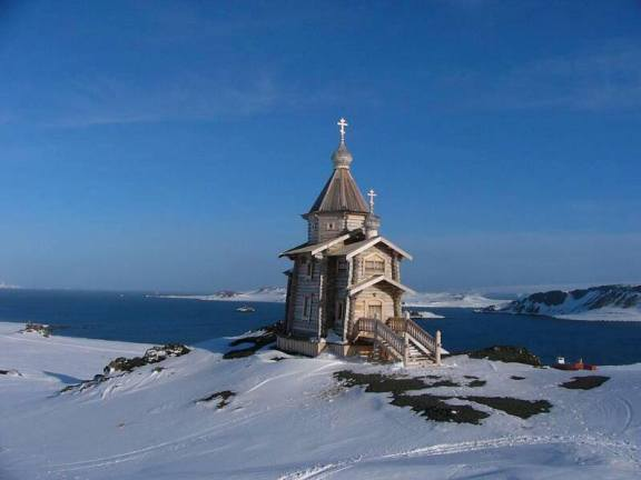 Biserica Ortodoxa in Antarctica