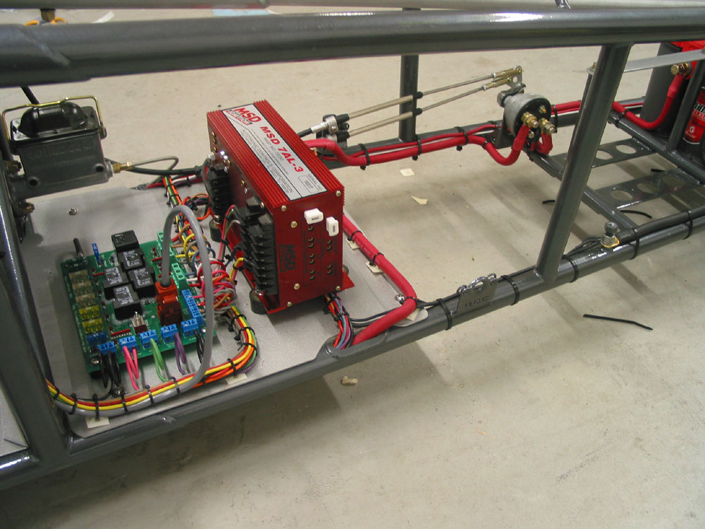 drag race wiring panels