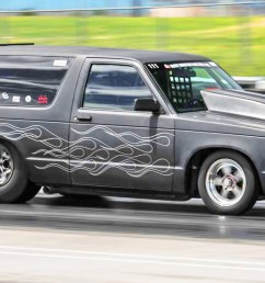twin turbo s10 blazer runs 8 40 160 mph [ 1431 x 805 Pixel ]