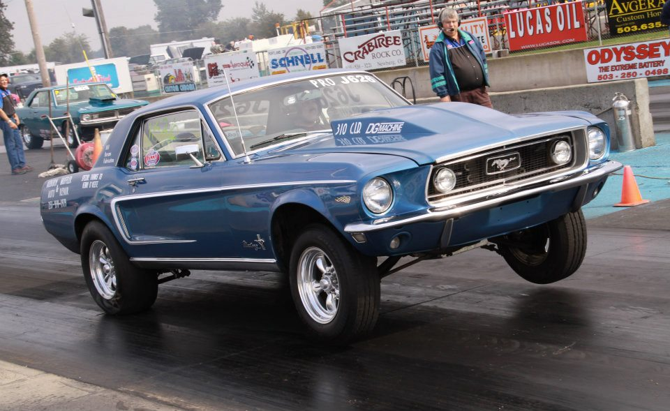 1968 Acapulco Blue Ford Mustang Pictures Mods Upgrades