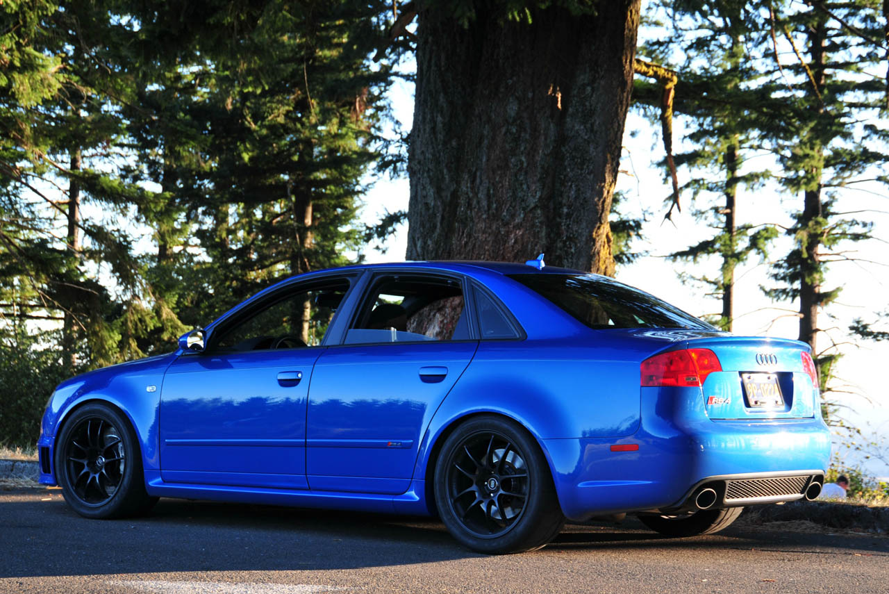 2008 Sprint Blue Audi Rs 4 Pictures Mods Upgrades
