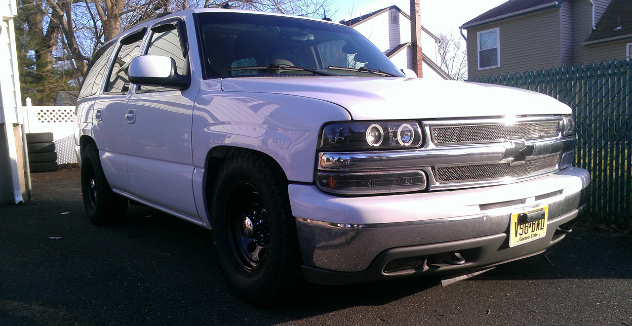 hight resolution of summit white 2003 chevrolet tahoe lt