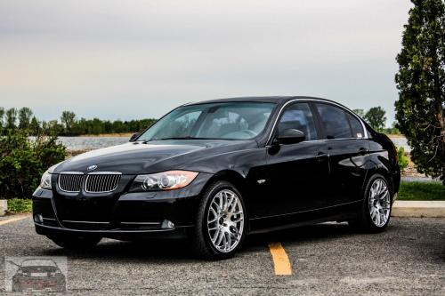 small resolution of jet black 2008 bmw 335xi e90