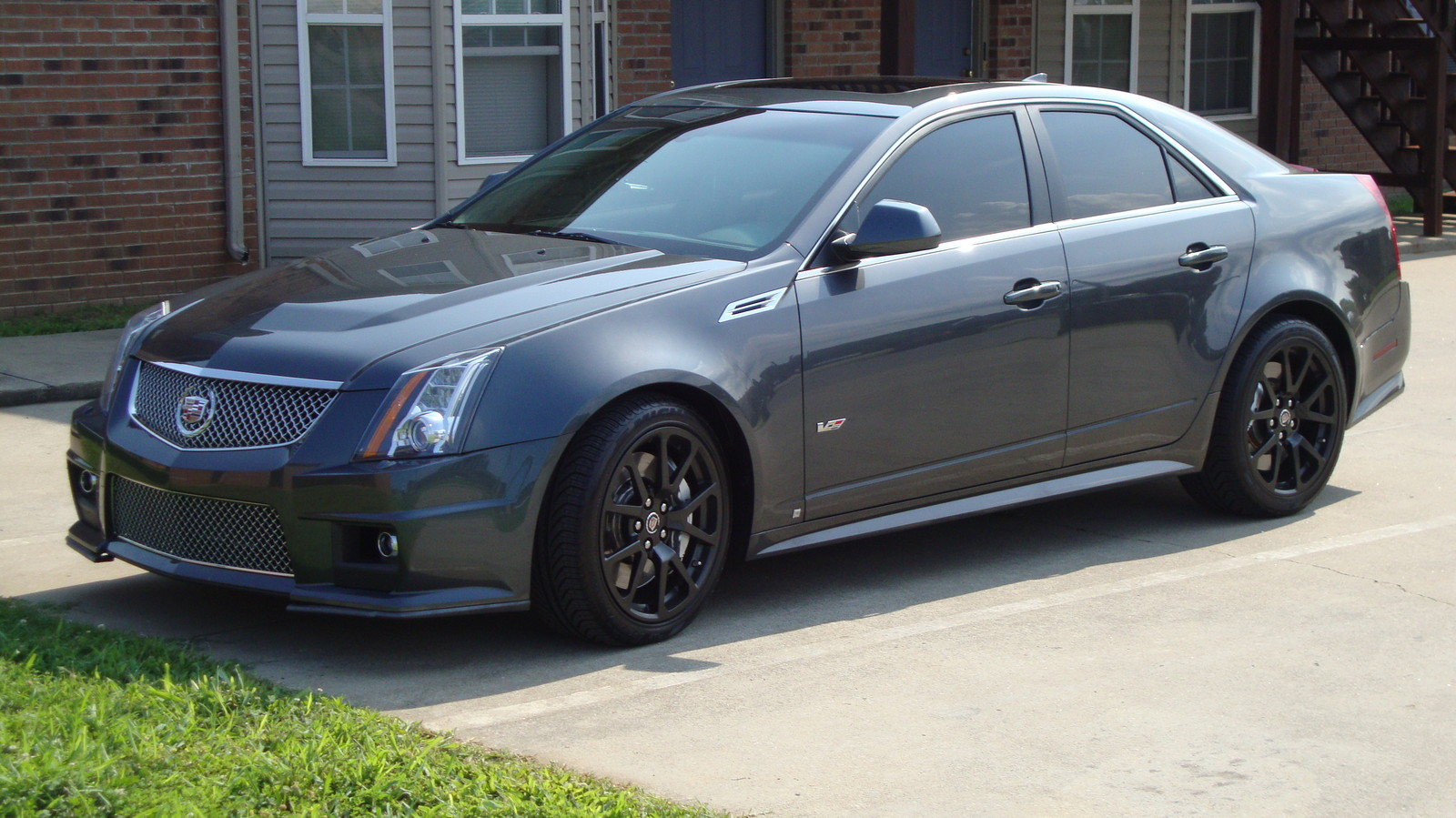 2009 Cadillac Cts V 1 4 Mile Drag Racing Timeslip Specs 0 60 Dragtimes Com