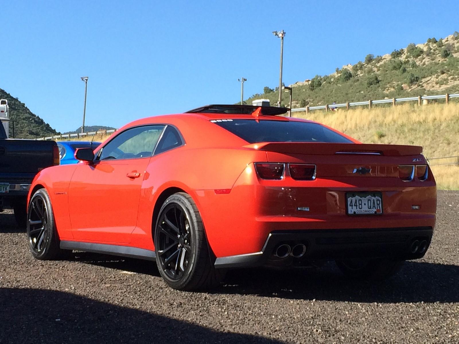 2013 Inferno Orange Metallic Chevrolet Camaro Zl1 Pictures Mods