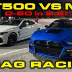 Stock 2020 Bmw M8 Competition 1 4 Mile Drag Racing Timeslip Specs 0 60 Dragtimes Com