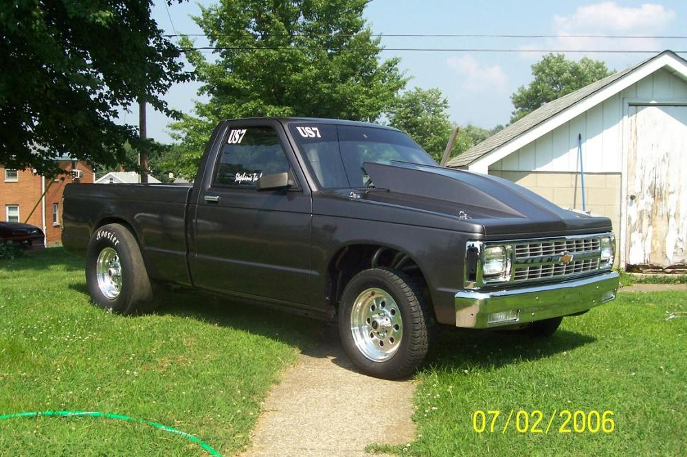 medium resolution of 1986 chevrolet s10 pickup racing 1 4 mile trap speeds 0 60 rh dragtimes com