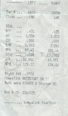 1995 Nissan 240SX Turbo 1/4 mile trap speeds 0-60