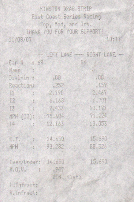 2006 Nissan Frontier SE Kingcab Intake Exhaust 1/4 mile