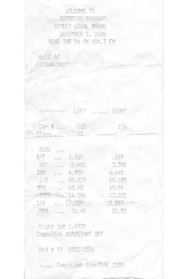 Stock 2000 Chevrolet Blazer LT 1/4 mile Drag Racing