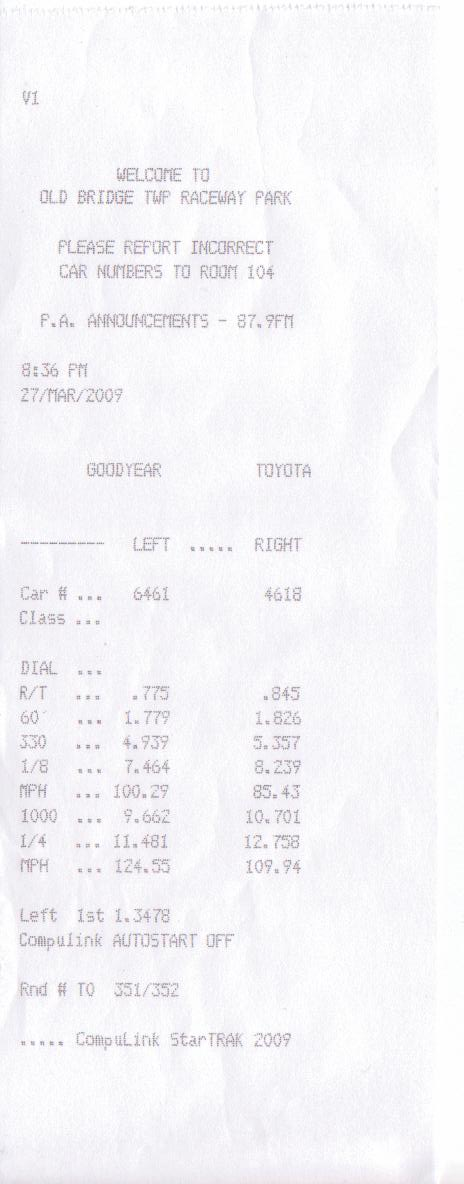 2007 Ford Mustang Shelby-GT500 Coupe 1/4 mile trap speeds