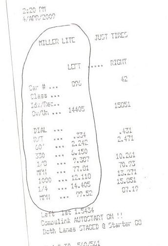 2003 Hyundai Tiburon 1/4 mile Drag Racing timeslip specs 0
