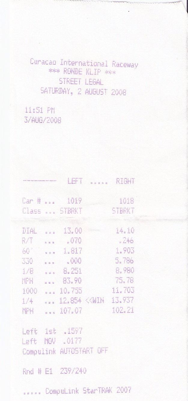 1995 Mitsubishi Lancer EVO Evo 3 1/4 mile Drag Racing