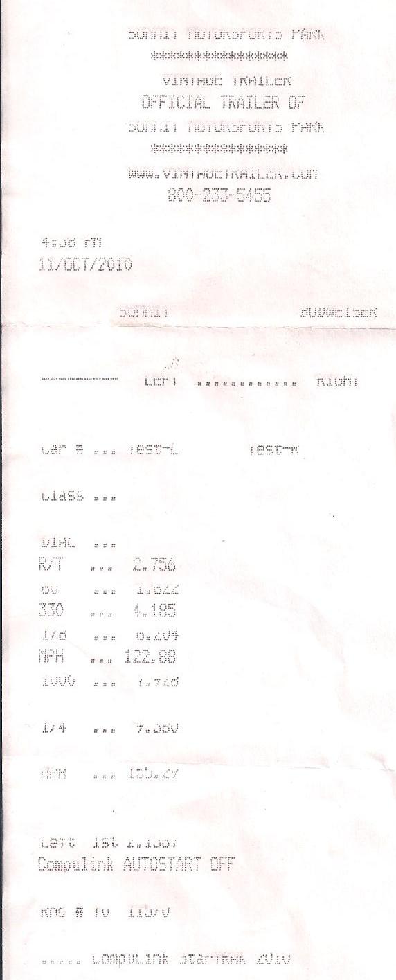 2009 Nissan GT-R Switzer R1K 1/4 mile trap speeds 0-60