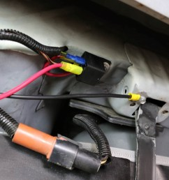 left prior to hanging the tank back in the car a bit of wiring is [ 1200 x 800 Pixel ]