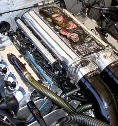inside scott oksas twin turbo pro mod engine dragzine drag race twin turbo diagram [ 1200 x 900 Pixel ]