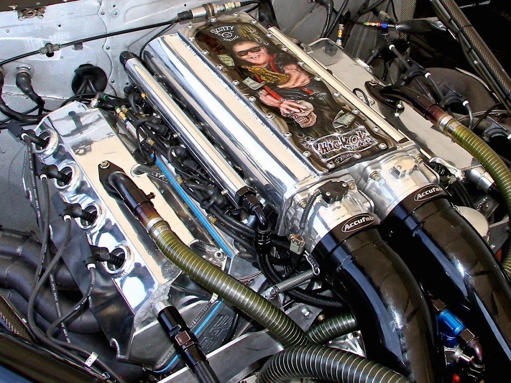 medium resolution of inside scott oksas twin turbo pro mod engine dragzine drag race twin turbo diagram