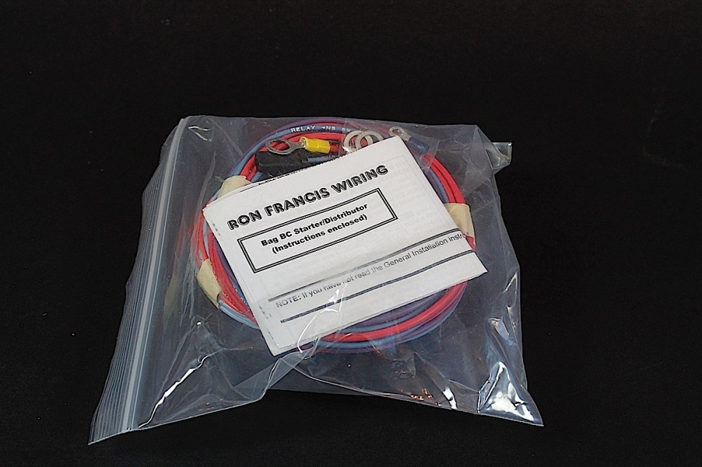 medium resolution of ron francis sent a box with several separate sections of our new harness packaged up for the install each bag is labeled with the circuit and includes