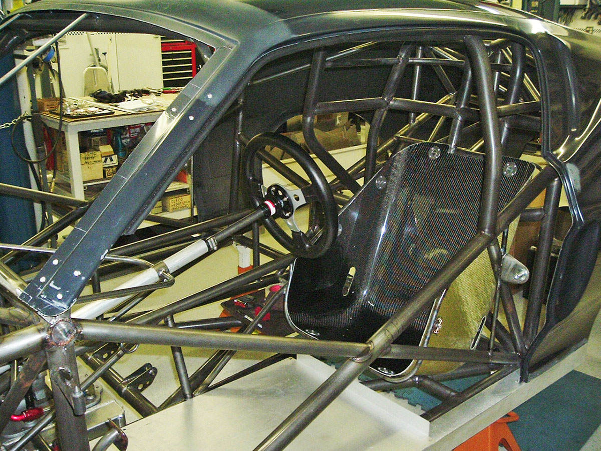 hight resolution of braglio commissioned a local chassis builder kramer brothers race craft out of pasadena maryland to construct the car beginning with a fully welded
