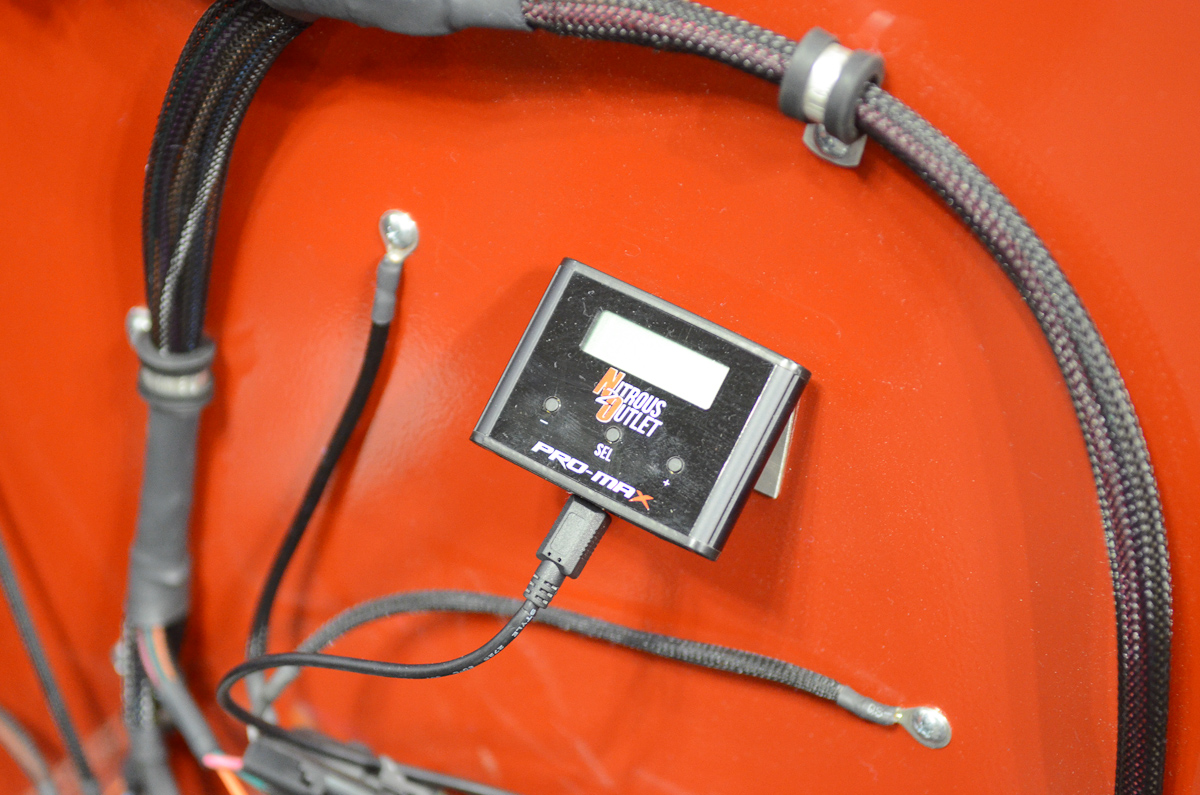 hight resolution of pri 2015 nitrous outlet simplifies install with new wiring harness 2 stage nitrous wiring diagram nitrous wiring harness