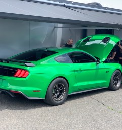 brian devilbiss sets record in evolution performance mustang [ 4032 x 3024 Pixel ]