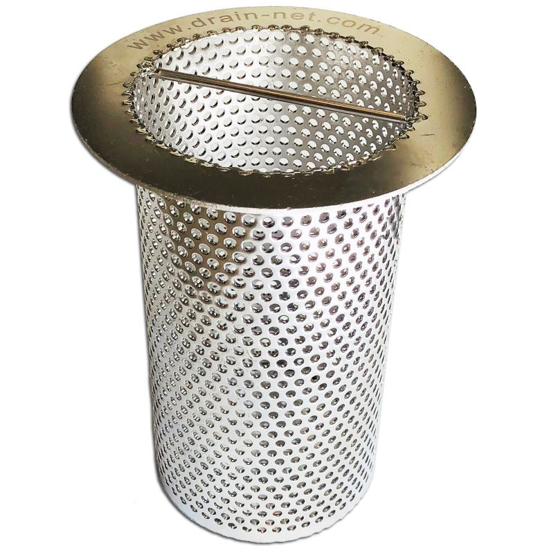 Perforated Drain Strainer made of stainless steel for